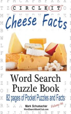 circle it, cheese facts, word search, puzzle book-9781945512223