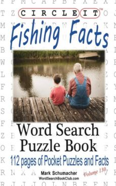 circle it, fishing facts, word search, puzzle book-9781945512605