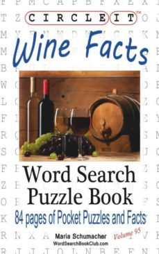 circle it, wine facts, word search, puzzle book-9781945512216