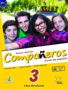 compañeros 3 (libro + cuaderno) @-9788497789479