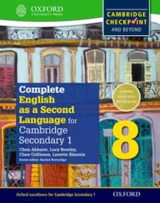 complete english as a second language for cambridge lower secondary student book 8 & cd (cie checkpoint)-9780198378136