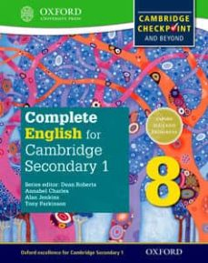 complete english for cambridge lower secondary student book 8: for cambridge checkpoint and beyond (cie checkpoint)-9780198364665