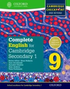 complete english for cambridge lower secondary student book 9: for cambridge checkpoint and beyond (cie checkpoint)-9780198364672