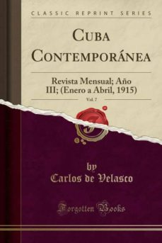 cuba contemporánea, vol. 7-9780428640354