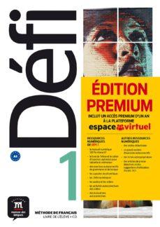 défi 1 livre de l élève + cd version premium a1-9788417249694