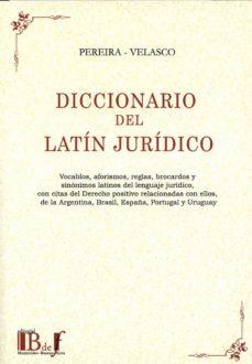 diccionario del latín jurídico-mario m pereira garmendia-9789974745421