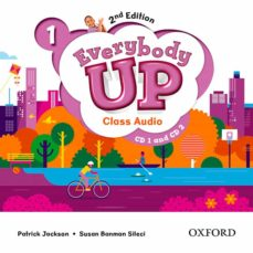 everybody up! 1. class audio cd (2) 2nd edition-9780194106733