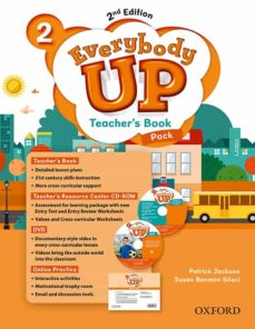 everybody up! 2. teacher s book w/dvd& online practice pack 2nd e dition-patrick jackson-sus banman sileci-9780194107006