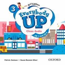 everybody up! 3 class audio cd (2) 2nd edition-9780194106757