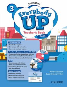everybody up! 3. teacher s book w/dvd& online practice pack 2nd e dition-patrick jackson-sus banman sileci-9780194107013