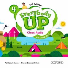 everybody up! 4. class audio cd (2) 2nd edition-9780194106764
