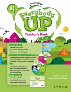 everybody up! 4. teacher s book w/dvd& online practice pack 2nd e dition-patrick jackson-sus banman sileci-9780194107020