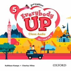 everybody up! 5. class audio cd (2) 2nd edition-9780194106771