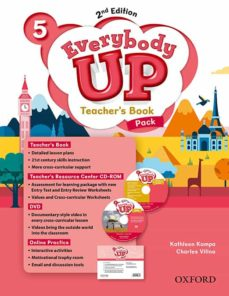 everybody up! 5. teacher s book w/dvd& online practice pack 2nd e dition-patrick jackson-sus banman sileci-9780194107037
