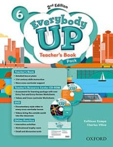 everybody up level 6 teacher s book pack with dvd, online practice and teacher s resource center cd-rom-9780194107044