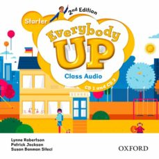 everybody up! starter. class audio cd (2) 2nd edition-9780194106726