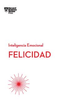 felicidad: serie inteligencia emocional hbr-9788494606656