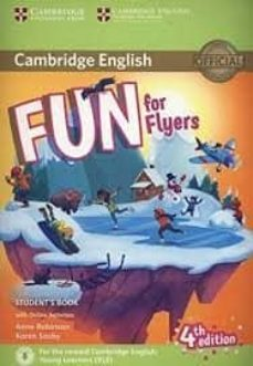 fun for flyers (4th edition - 2018 exam) student s book with audio download & online activities-9781316632000