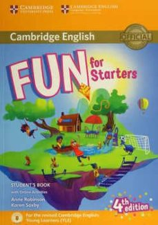 fun for starters (4th edition - 2018 exam) student s book with audio download & online activities-9781316631911