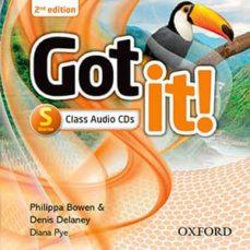 got it: starter level: class audio cd (2 discs)-9780194463188