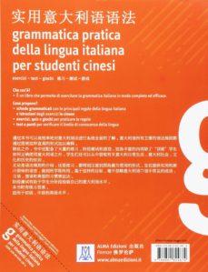 grammatica pratica della lingua italiana per studenti cinesi (libro)-9788861824874