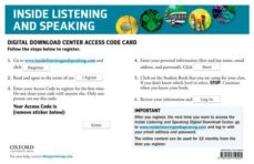 inside listening & speaking 4. itools-9780194719445