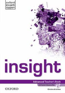insight advanced. teacher s book pack-9780194010801