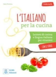 l'italiano per la cucina (libro + mp3 e video online)-9788861825536