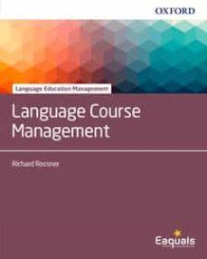 language course management-richard rossner-9780194403276