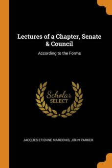 lectures of a chapter, senate & council-9780341652403