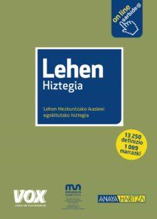 lehen hiztegia (3ª ed.)-9788499742335