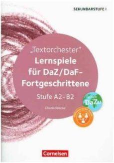 lernspiele a2/b2: juegos de clase-claudia boeschel-9783589153831