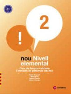 nou nivell elemental 2. curs de llengua catalana. formació de persones adultes-9788417406080