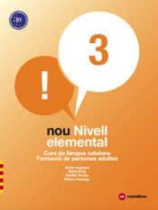 nou nivell elemental 3. curs de llengua catalana. formació de per sones adultes-9788417406097