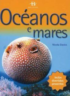 oceanos e mares-nicola davies-9788496893238