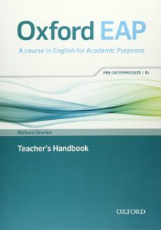oxford eap: oxford english for academic purposes pre-intermediate. teacher s book and dvd pack-9780194002141