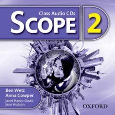 scope 2. class audio cd (x3)-ben wetz-anna cowper-9780194506168