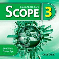 scope 3. class audio cd (x3)-ben wetz-diana pye-9780194506281