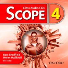 scope 4 class audio cd (x3)-bess bradfield-helen halliwell-9780194506403