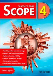 scope 4 teacher s book-sheila dignen-9780194506397