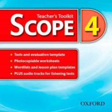 scope 4. teacher s resource cd-9780194506441