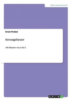 seeungeheuer-9783656503491