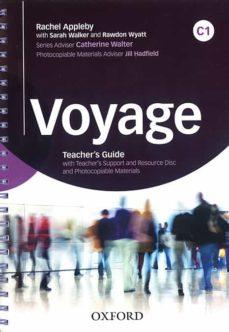 voyage c1. teacher s book + teacher s resource pack-9780194523004