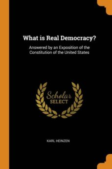 what is real democracy?-9780341664383