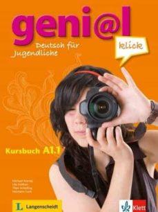 genial klick a1.1 kursbuch. libro del alumno + audio-9783126052702