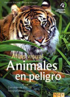 animales en peligro: atlas visual-9783625001751