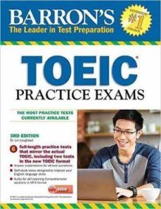 barron s toeic practice exams with mp3 cd, 3rd edition-lin lougheed-9781438077277