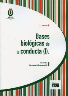 bases biologicas de la conducta, i-fernando colmenares gil-9788445415153