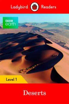 bbc earth: deserts: level 1 (ladybird readers)-9780241316085