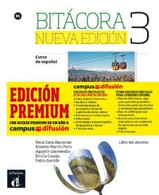 bitácora 3 nueva edición libro del alumno + mp3 (versión premium)-9788417249588